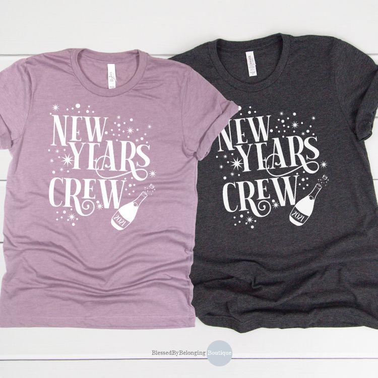 New Years Eve Crew 2021 Womens New Year Shirts 2021 Etsy In 2020 New Years Shirts Womens Halloween Shirts New Years Eve Shirt