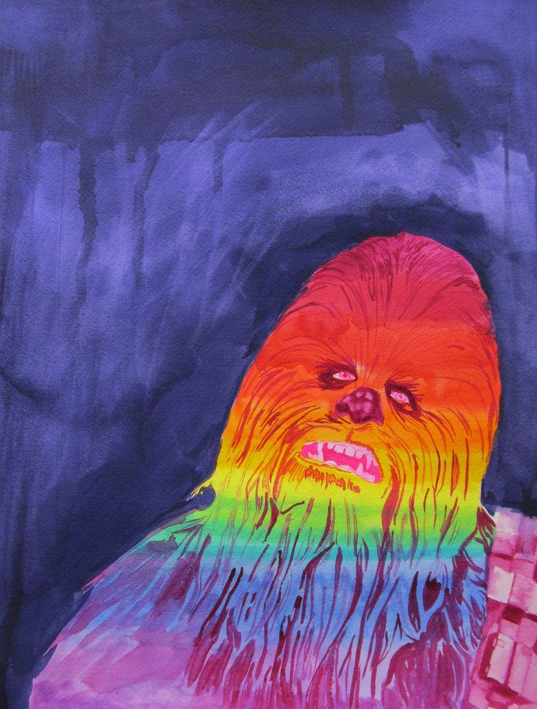 Rainbow Chewie