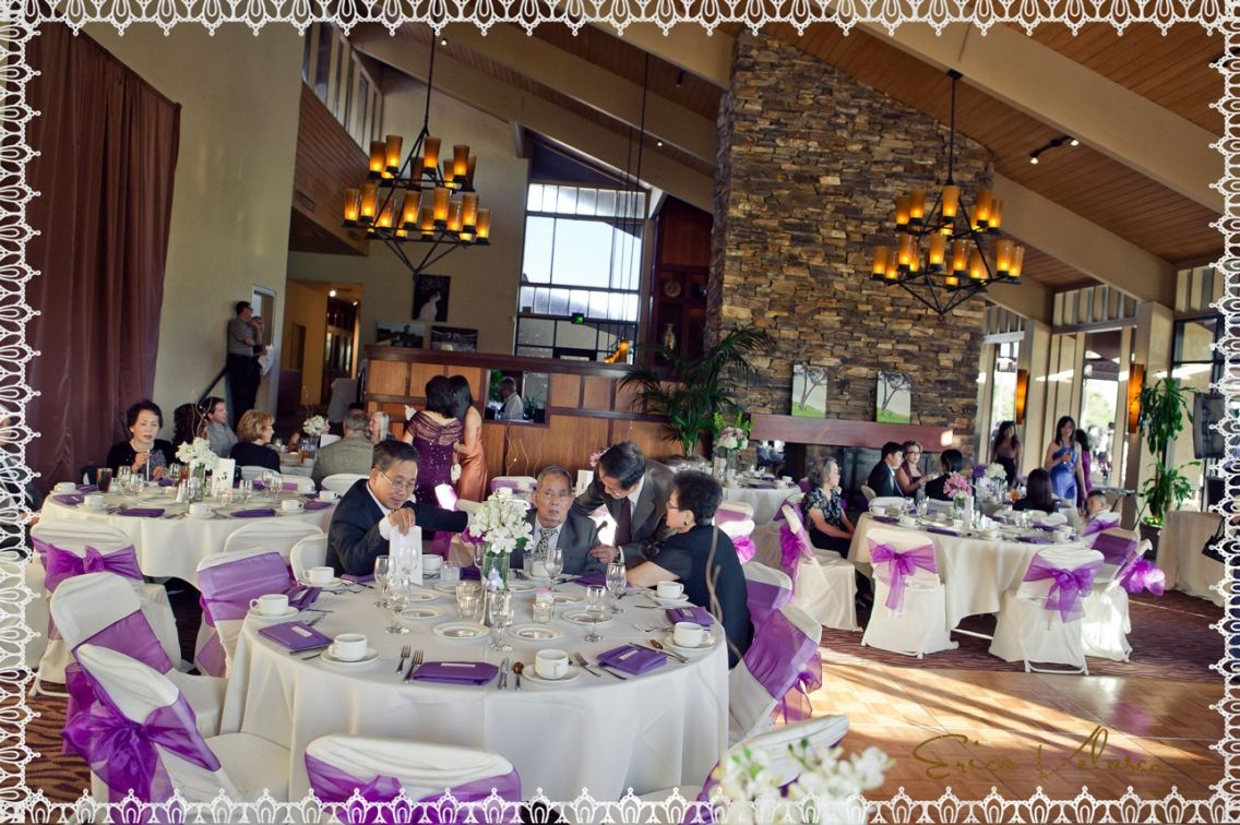 Mccormick Ranch Golf Club Wedding Clubhouse Dining Room Reception Area