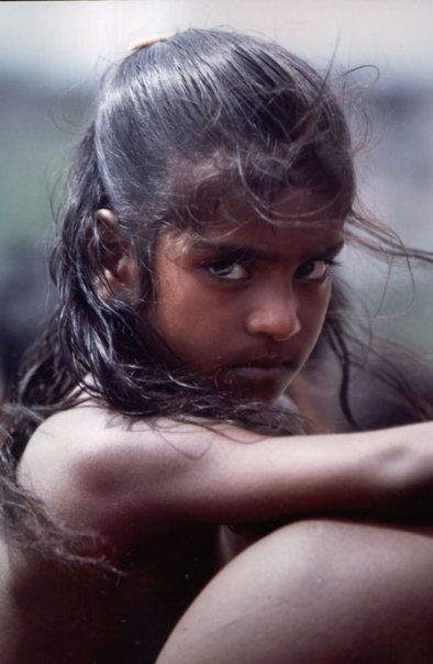 Hearing challenged girl, Chennai Mädchen aus Indien Pinterest