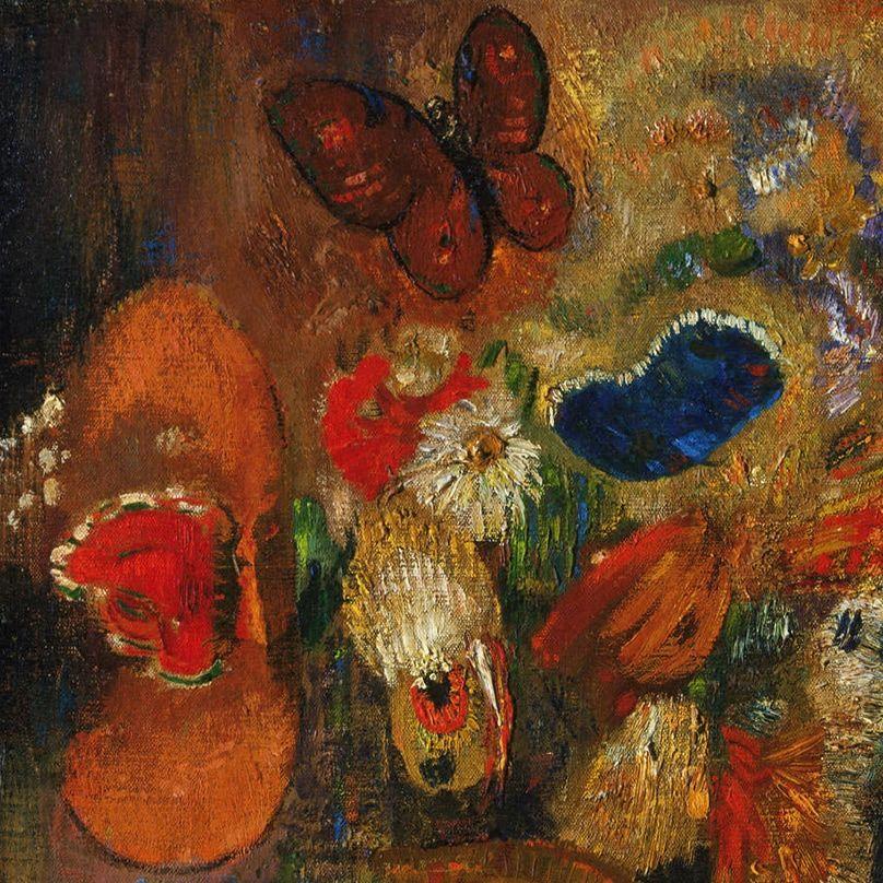 Apparition (detail) by Odilon Redon | Art.. | Pinterest | Odilon ...
