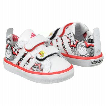 adidas Disney Toy Story Todd Shoes (White/Black/Red) - Kids'