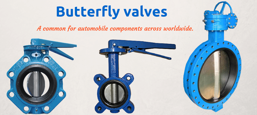 Butterfly Valve Manufacturers in India Butterfly valve