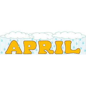 April Clip Art