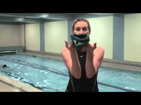 How To Put On A Swim Cap Swim Caps Swimming Workout Swimming Body