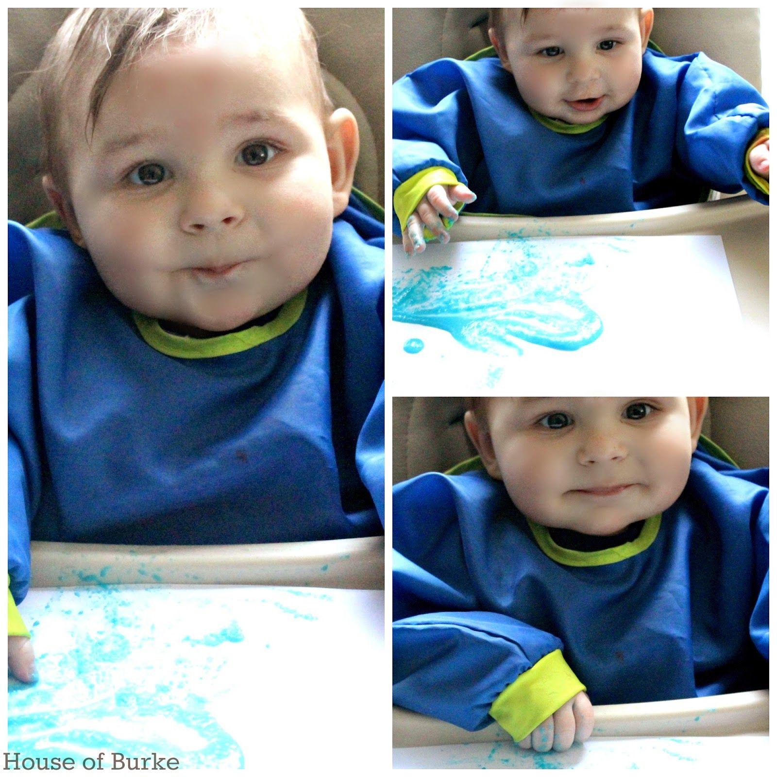 Taste Safe Baby Cereal Fingerpaint