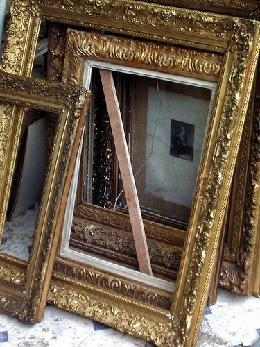 How to Repurpose Old Picture Frames | Vintage picture frames ...