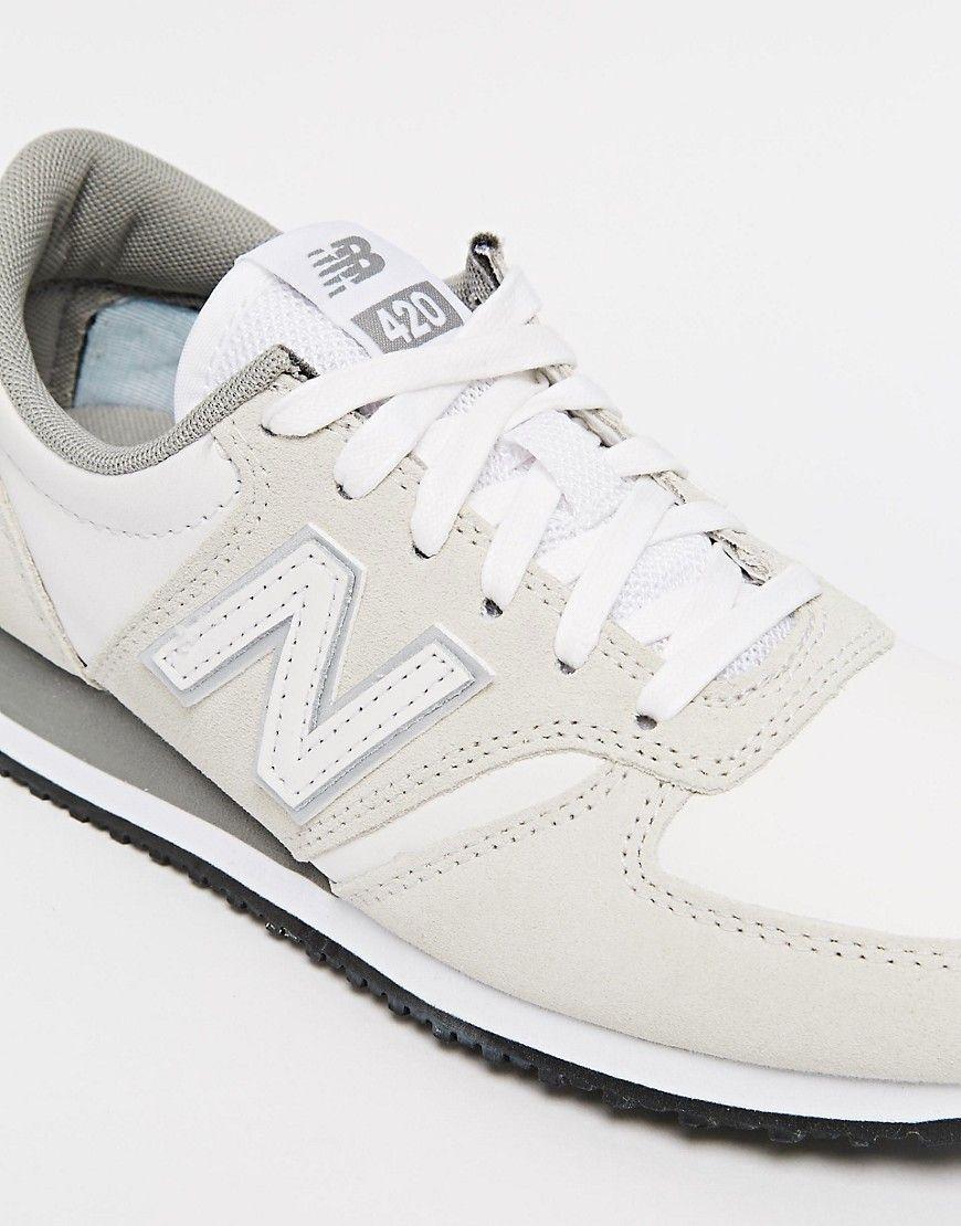new balance beige suede 420