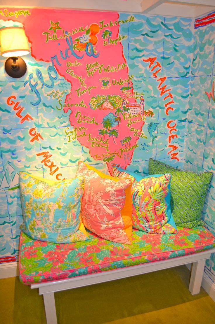 Lilly Pulitzer Dressing Room