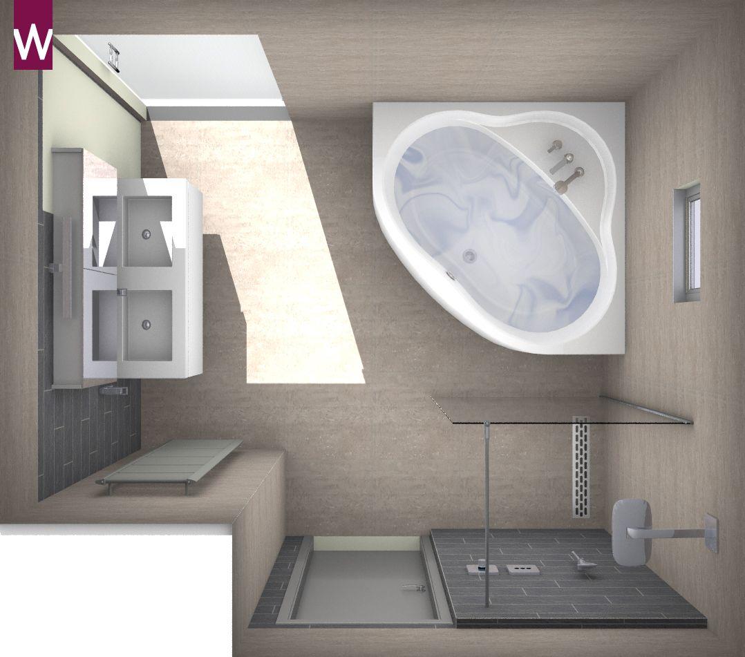 Badkamer inspiratie bij van wanrooij wastafels tegels for Inrichting badkamer 3d