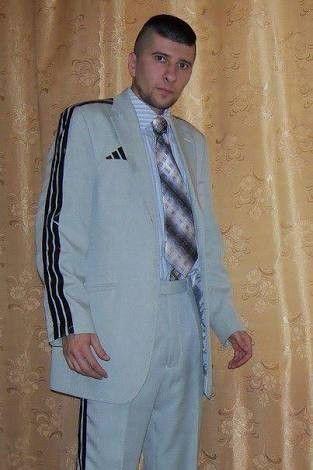 adidas dress suit
