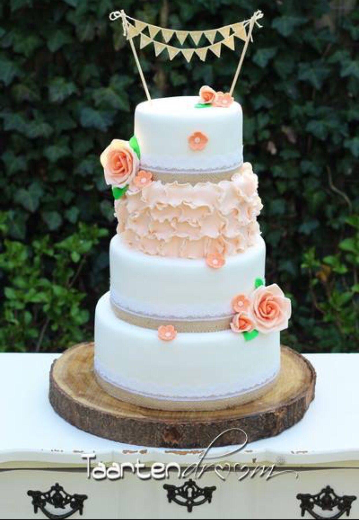 Bruidstaart Vintage Weddingcake