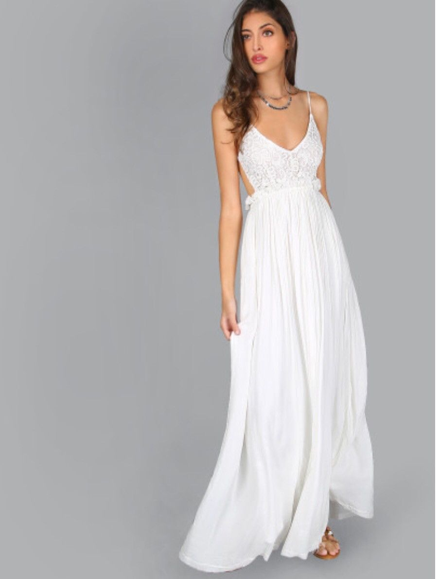 Crochet maxi dress products pinterest products