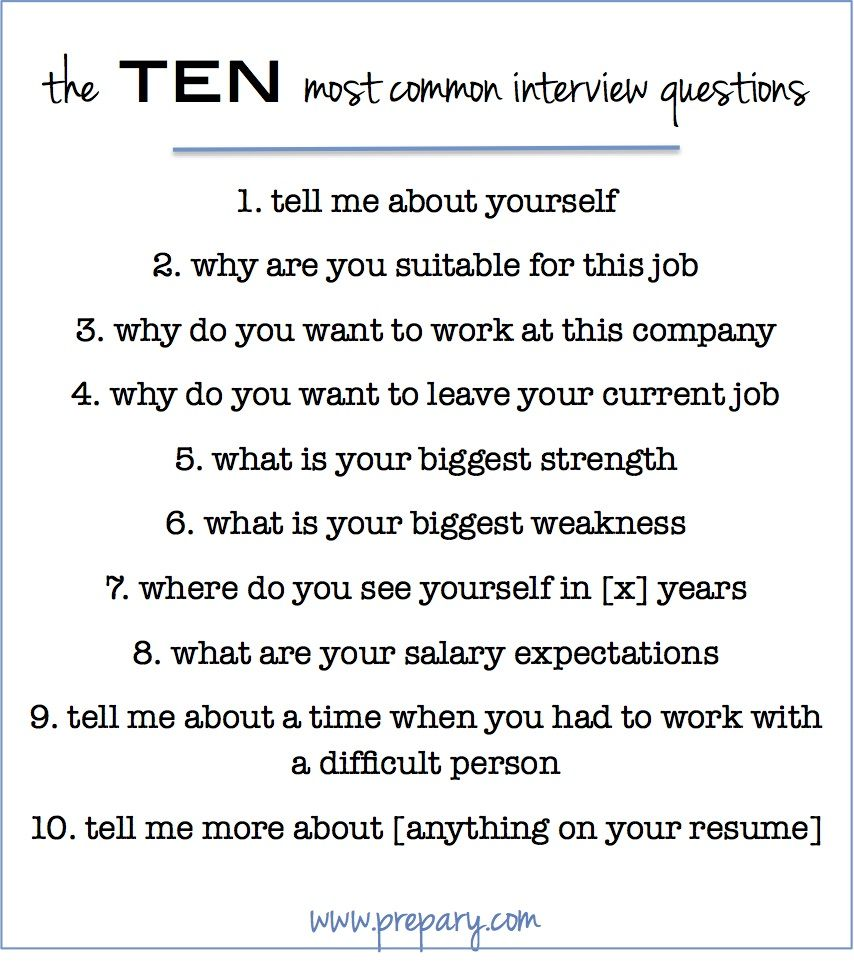 How To Answer The Most Common Interview Questions  Restaurant Interview Questions