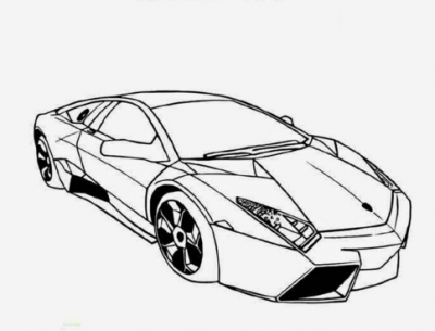 Dibujos De Coches Deportivos Para Colorear | Autos Hermosos De