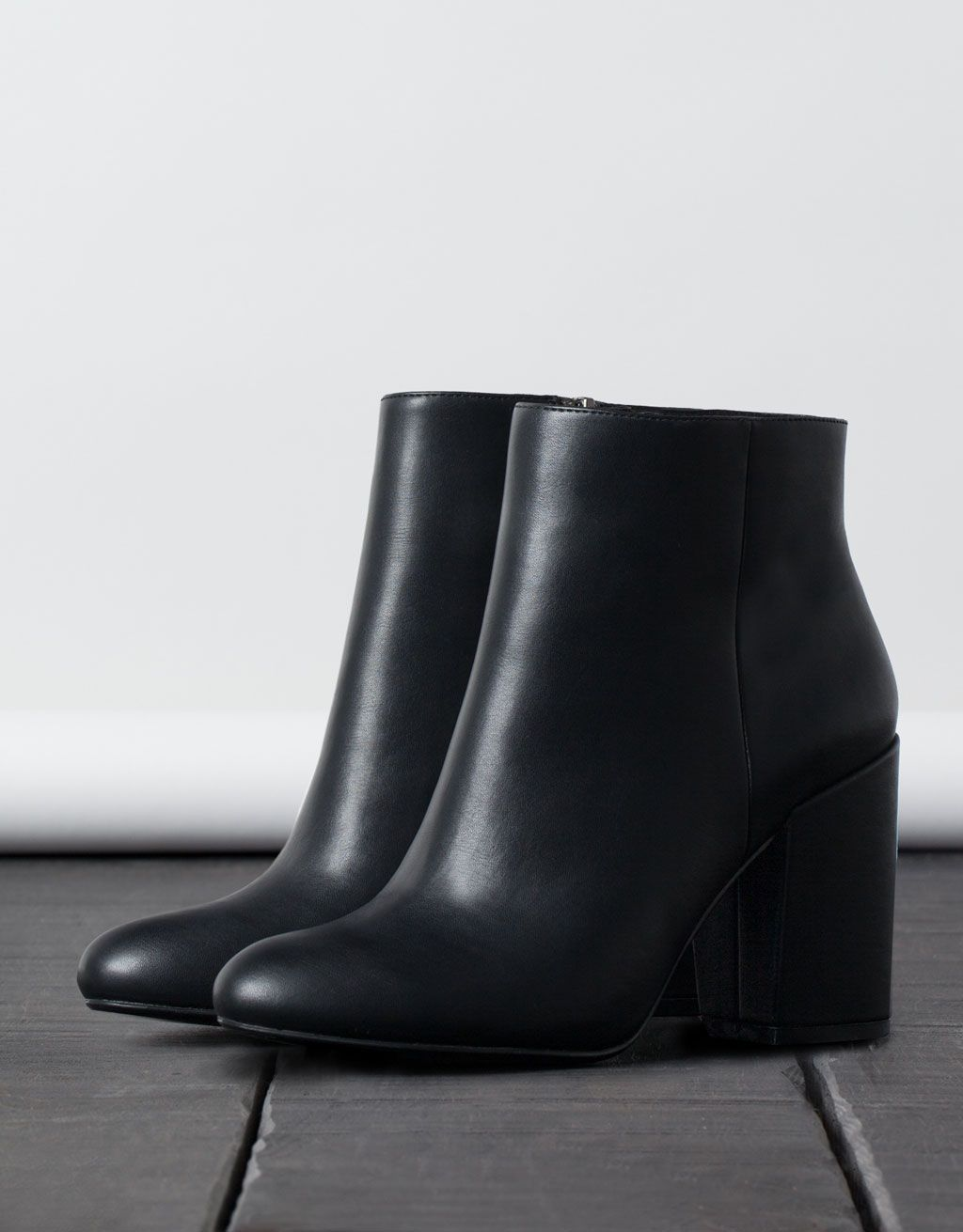 bottines pointues à talons - chaussures - bershka france | need