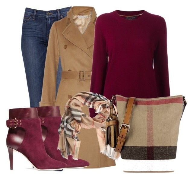 """winterfel 3"" by ysarybeautiful on Polyvore featuring Vince, Burberry and Jimmy Choo"