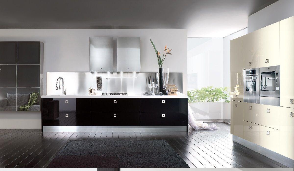 Cucinesse: #cucina moderna MIKA - Colore in cucina. #arredamento ...