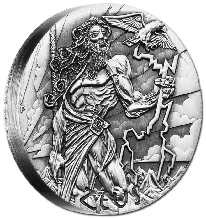 2017 Temptation of the Succubus 2oz .999 Fine Silver BU Finish by Pheli Mint