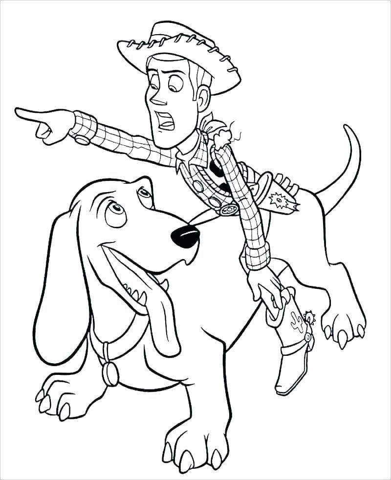 Woody Coloring Pages   Toy story coloring pages, Disney ...