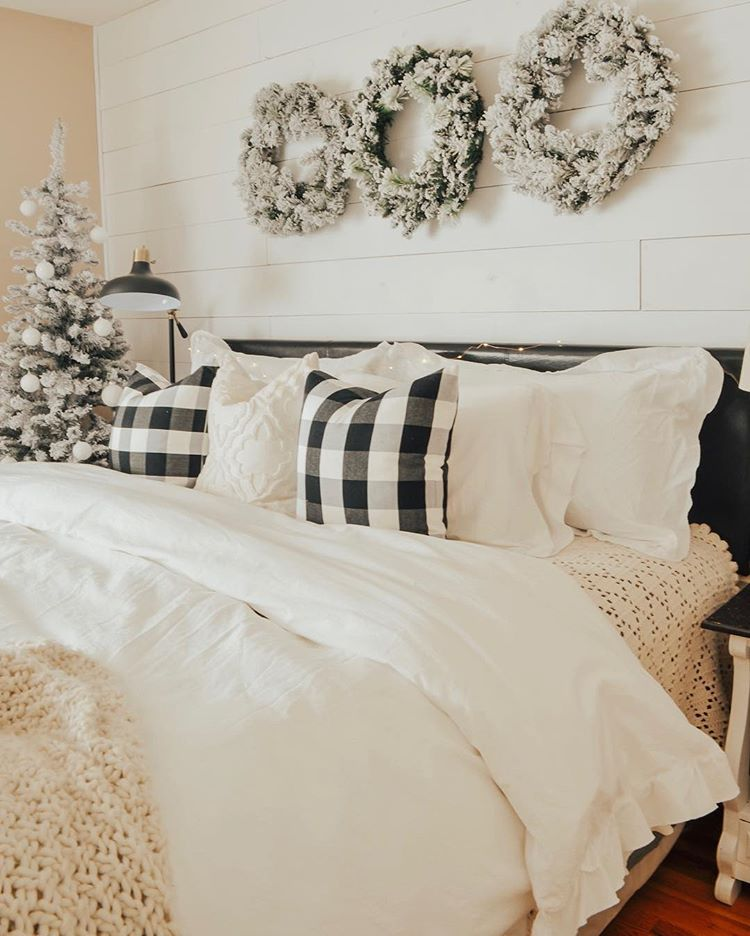 Winter Bedding Warm Cozy Layers Holiday Bedroom Holiday Bedroom Decor Bedroom Diy