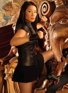 lucy liu keeps busy with an eclectic mix of hobbies she practices the martial art of kali. Black Bedroom Furniture Sets. Home Design Ideas