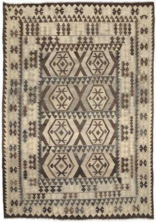 Kelim Afghan Old style Teppich 203x292