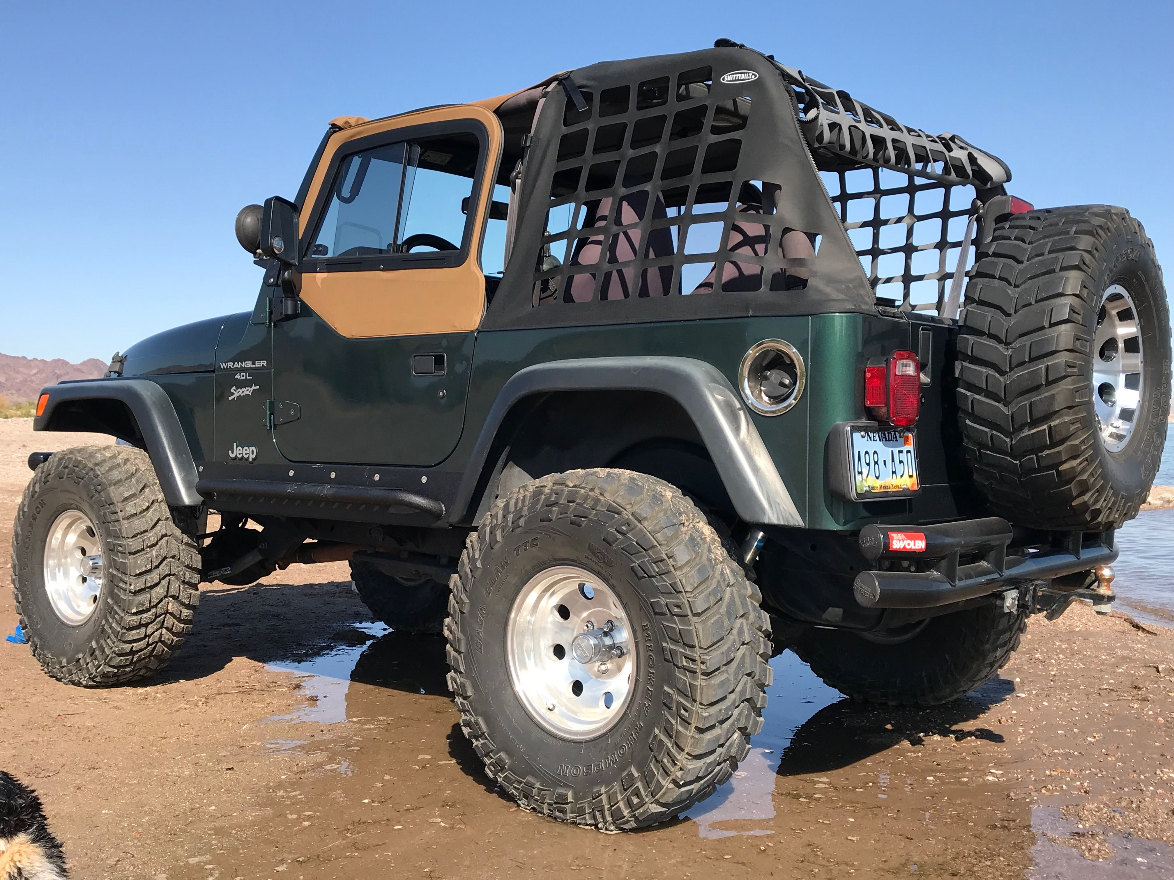 Pin By Benjamin Tugwell On O O Jeep Tj Jeep Truck Jeep