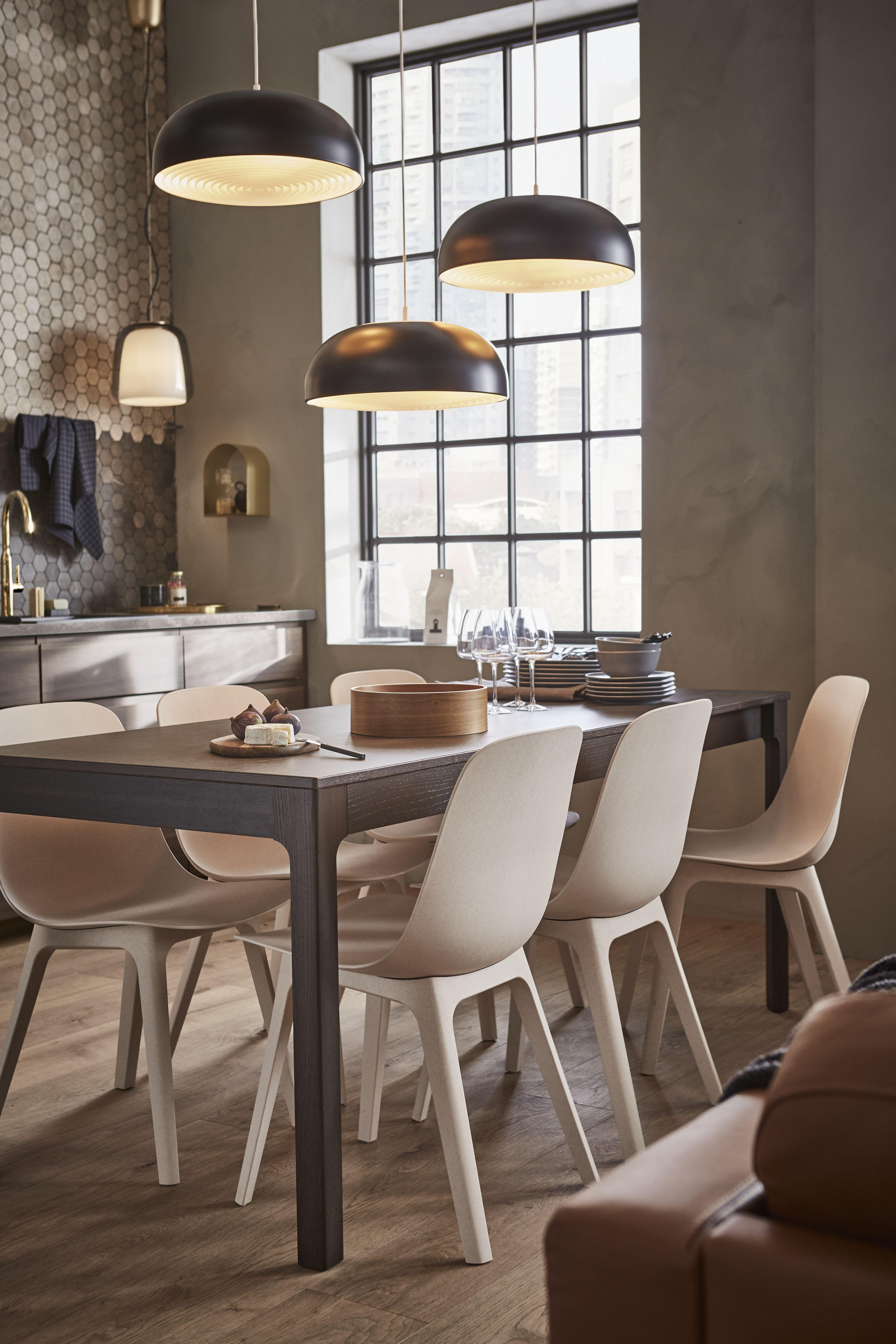 La lámpara de techo NYMÅNE es todo lo que una cocina ...