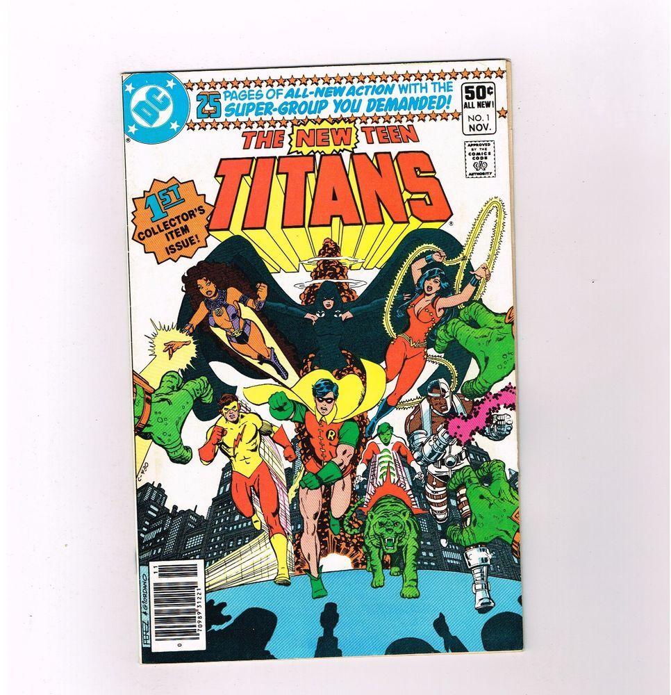NEW TEEN TITANS #1 Grade 8.0 Bronze Age classic from DC Comics!  http://cgi.ebay.com/ws/eBayISAPI.dll?ViewItem&item=302033627701&roken=cUgayN&soutkn=akVgLN
