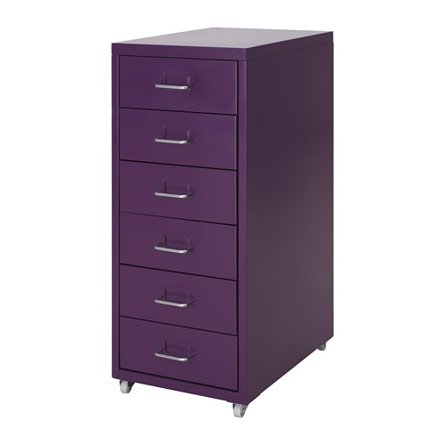 Ikea Us Furniture And Home Furnishings Purple Home Offices Drawer Unit Purple Office