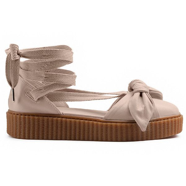 865e4faf874 Fenty by Puma Bow Creeper Sandal ( 180) ❤ liked on Polyvore featuring  shoes