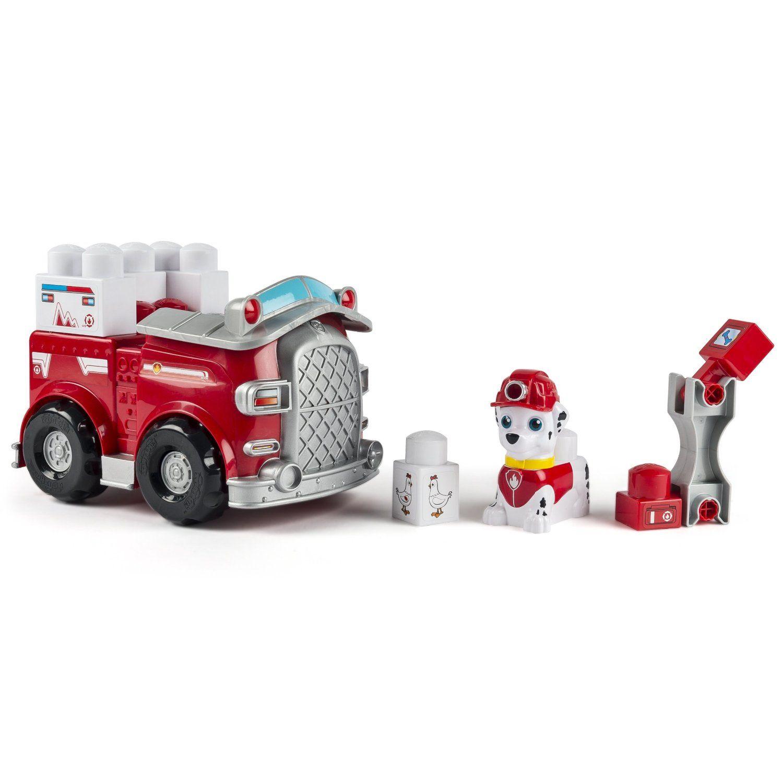 Amazon.com: IONIX Jr. Paw Patrol, Rescue Marshall Block Set: Toys & Games