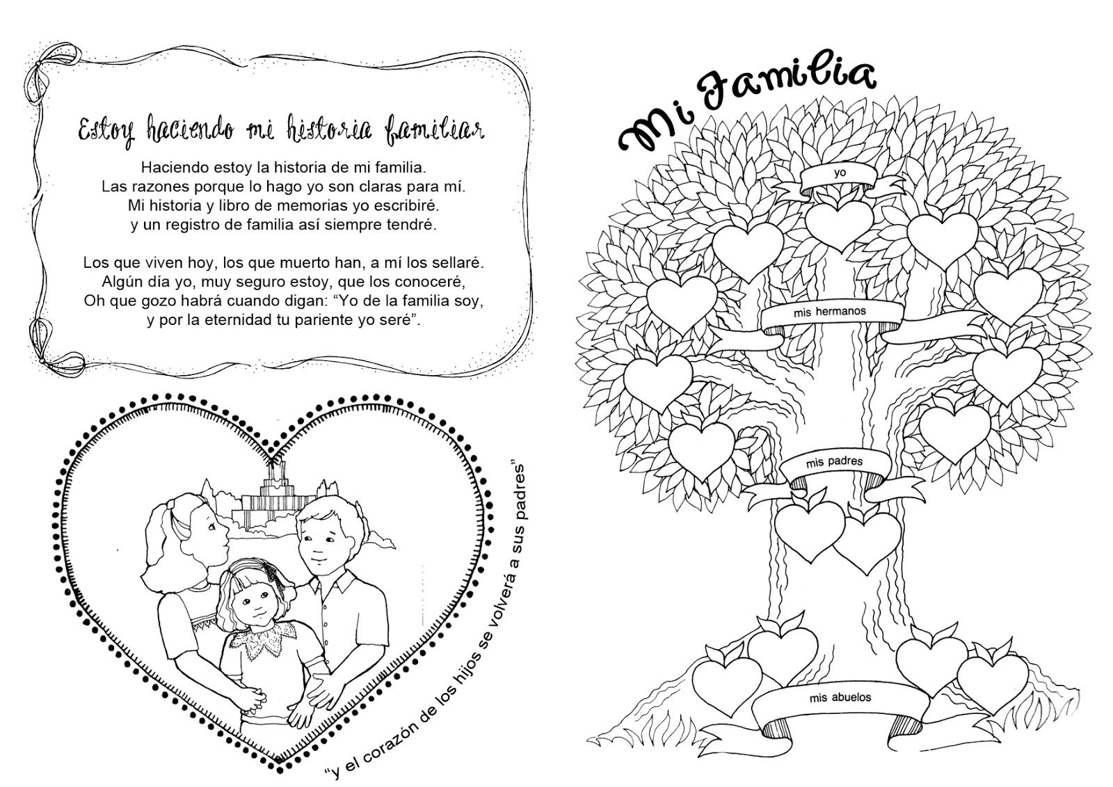 Historia Familiar -tiempo para compartir. | lds | Pinterest ...