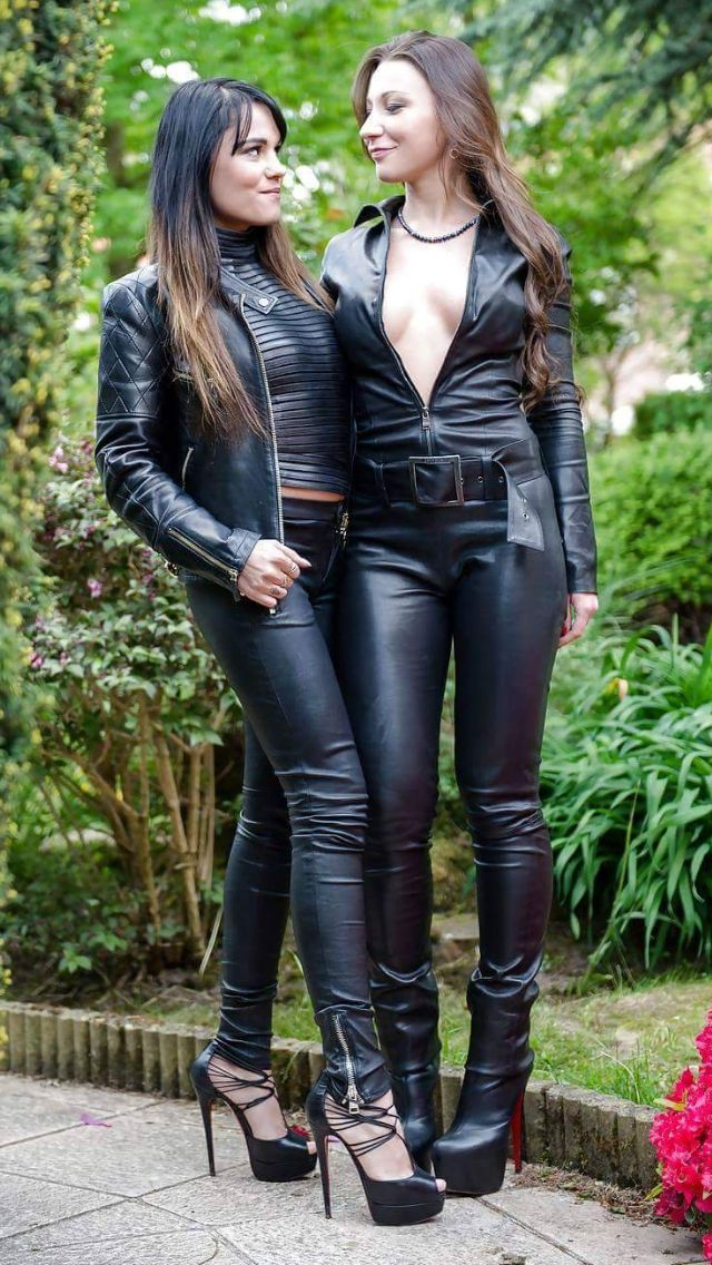 Friends | Outfits featuring leather pants | Pinterest | Latex and ...