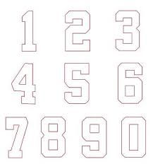 Image result for college font numbers | Sistaz Cakes | Numbers