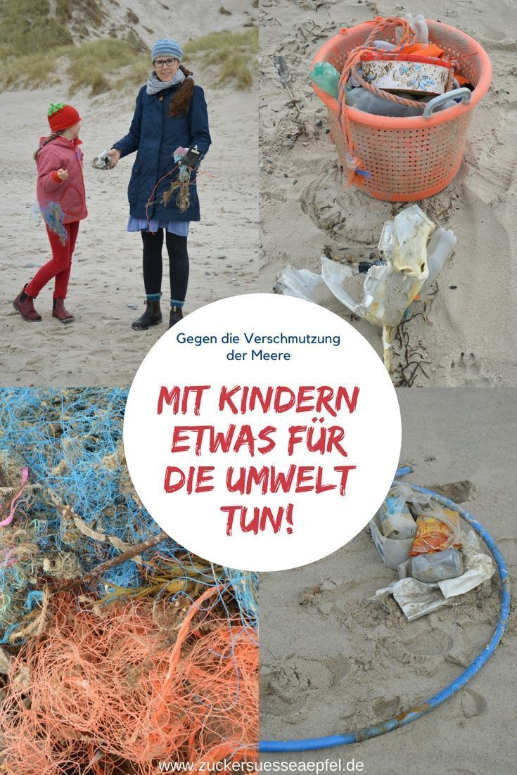 The garbage in our oceans or how I do something for the environment with my childrenchildren