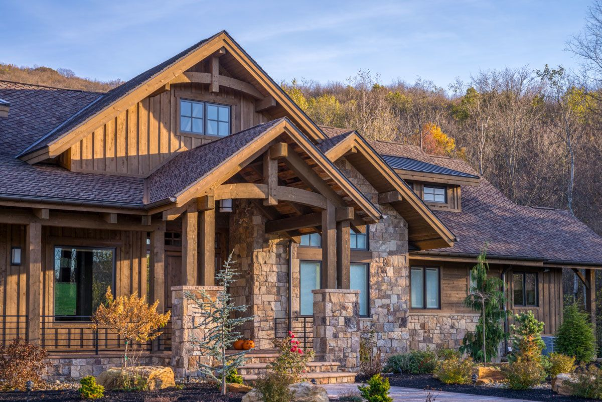 Plan 95046RW: Luxurious Mountain Ranch Home Plan with Lower ... on