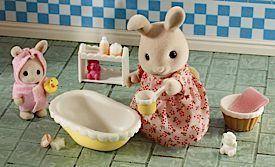 Sylvanian Families - Bath Time For Baby