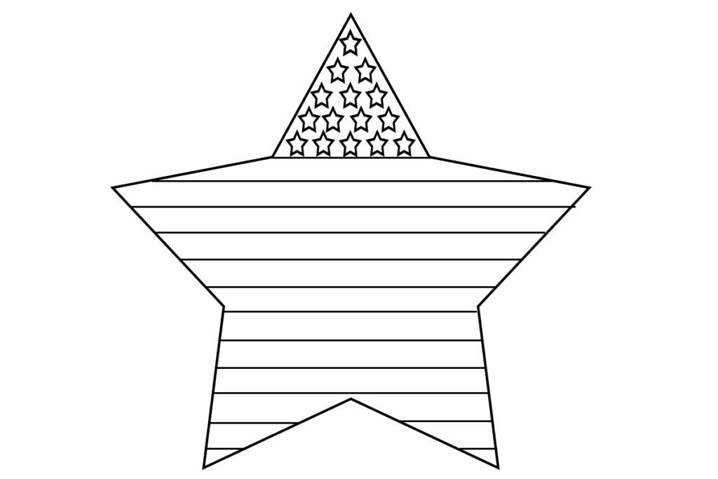 American Flag Coloring Pages Free Printable | American ...