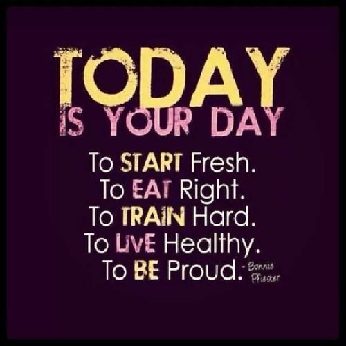 Today Is Your Day Quotes Quote Fitness Workout Motivation Proud Healthy  Exercise Motivate Fitness Quote Fitness Quotes Workout Quote Workout Quotes  Exercise ...