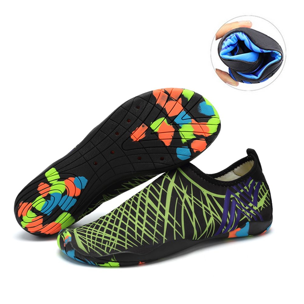 af60c62409e6 Water Shoes Water Shoes Mens Womens Beach Swim Shoes Quick-Dry Aqua Socks  Pool Shoes for Surf ...