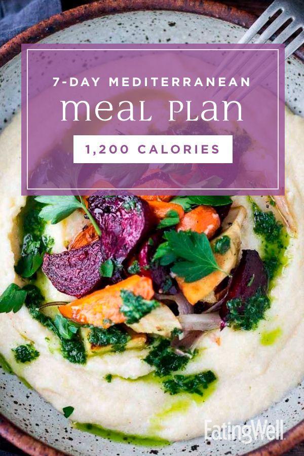 7Day Mediterranean Meal Plan 1200 Calories