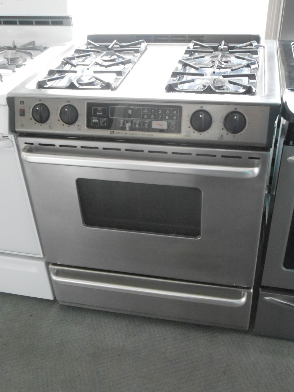 Appliance City Maytag 30 Inch Self Clean Slide In Gas Range 4