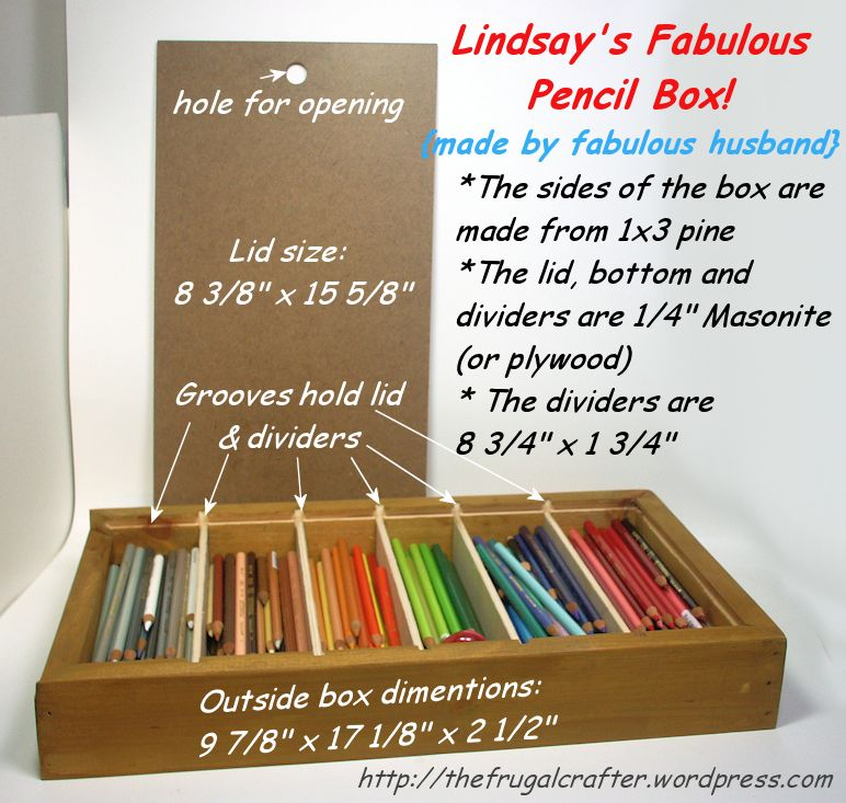 Fabulous Diy Colored Pencil Storage Colored Pencil Storage Pencil Storage The Frugal Crafter