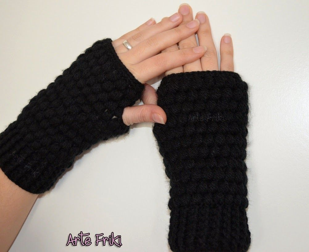 crochet mittens ganchillo mitones   crochet   Pinterest   Mitones y ...