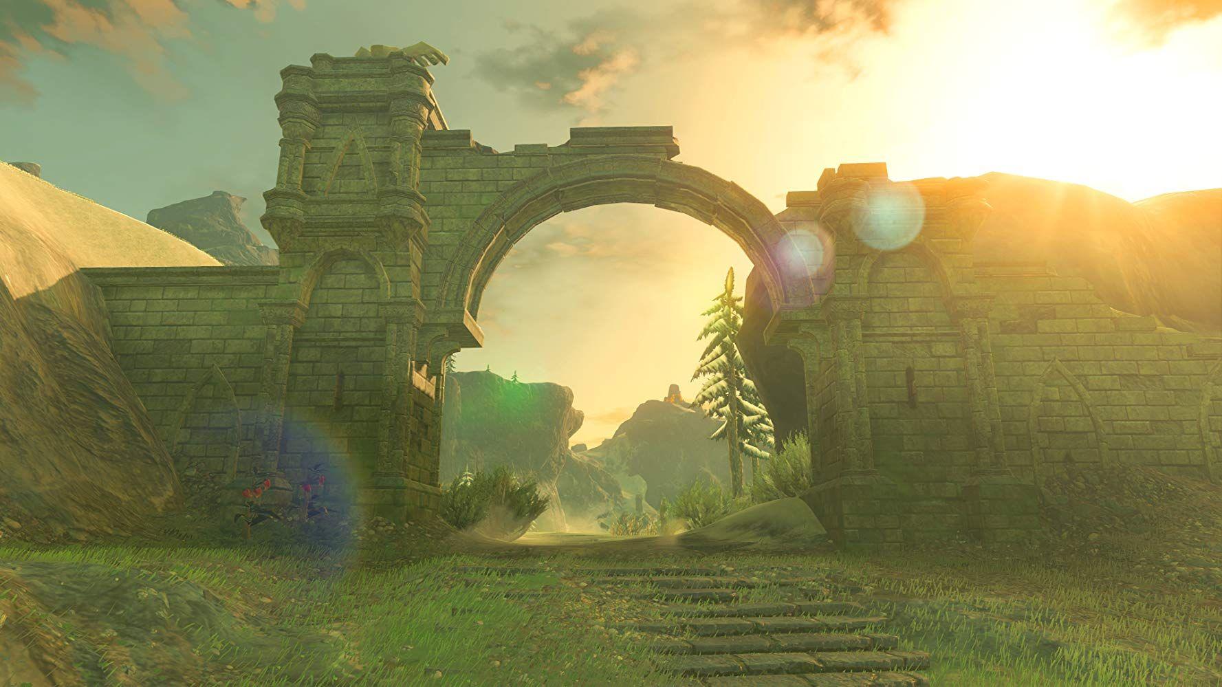 Romantic ruins in BotW