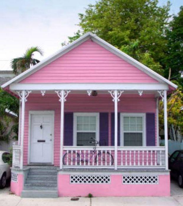 Inside A Tiny Florida Cottage Full Of Tropical Colors: Une Vieille Maison Anglaise Dans La Ville De Herefordshire