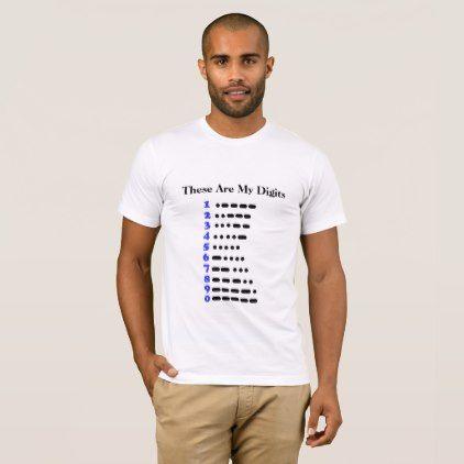 funny - #Morse Code Numbers Chart Ham Radio T-shirt funny - morse code chart