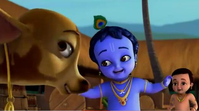 Darling of vrindavan (Little Krishna Series) - Preethi